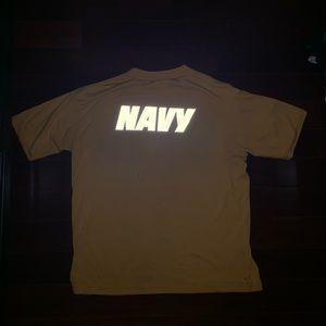 US Navy Men's Yellow NAVY Shirt